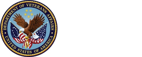 Department of Veteran Affairs Seal image with eagle and American Flags